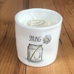 Rae Dunn Spring Candle